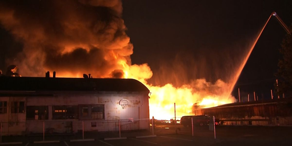 Police: Lumber warehouse fire in Queen Anne ruled as arson