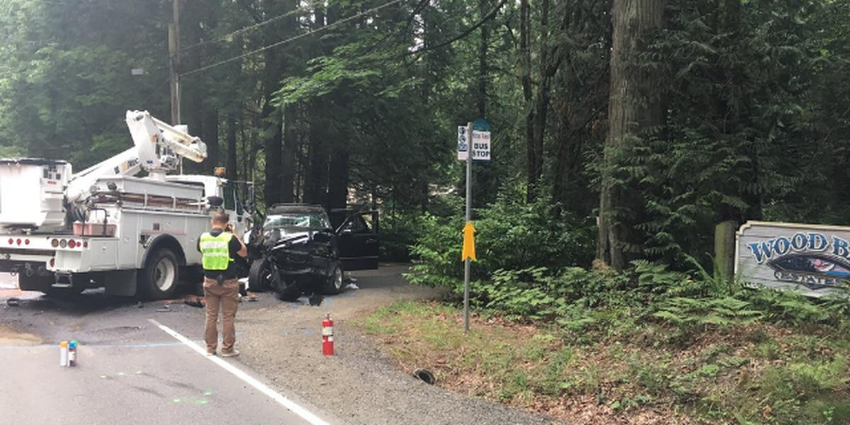 1 dead in head-on crash in Kitsap County