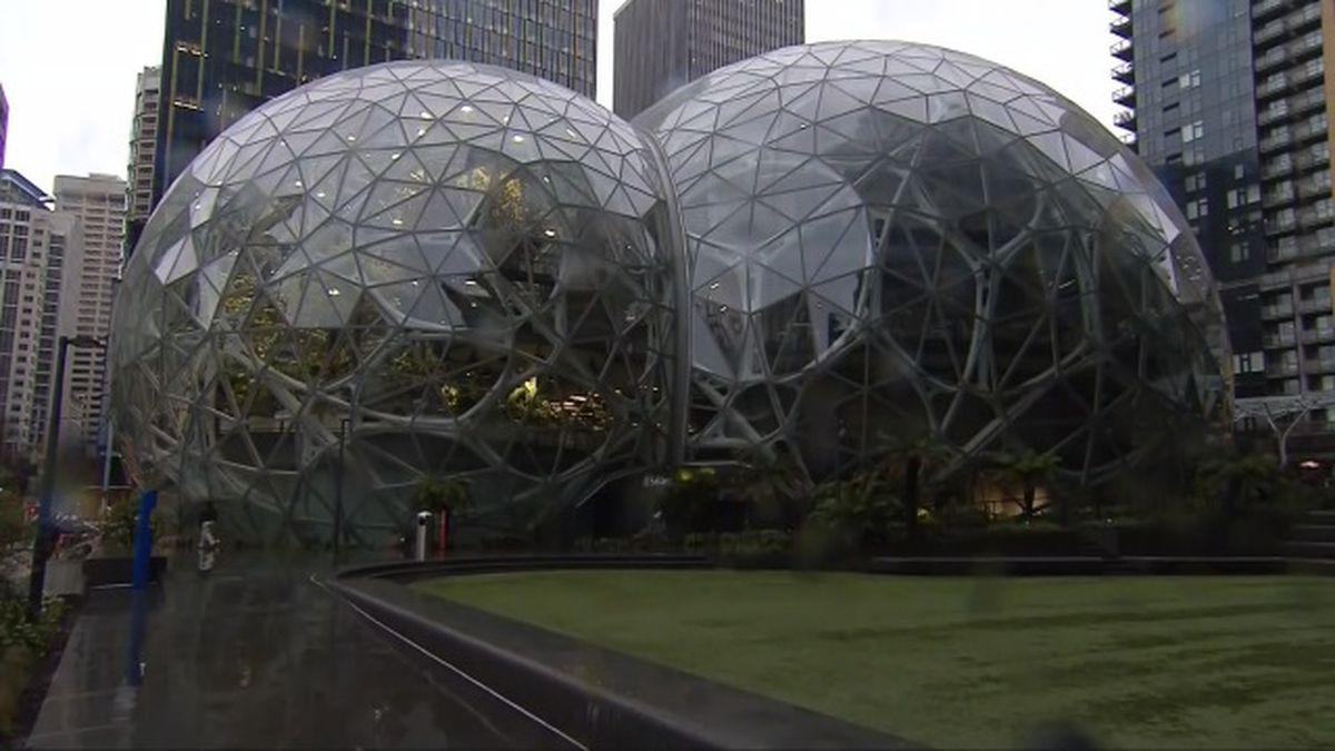 Amazon, Starbucks react to Seattle head tax
