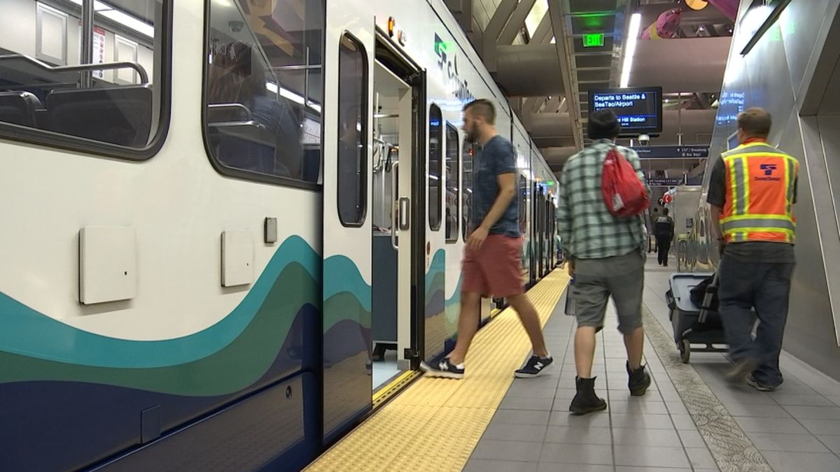 Link service to Beacon Hill Station restored after temporary outage early Monday
