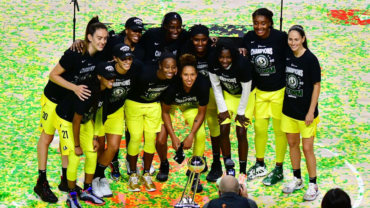 Stewart leads Seattle to 2nd WNBA title in 3 years