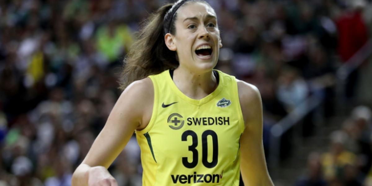 Storm re-sign former WNBA MVP Breanna Stewart