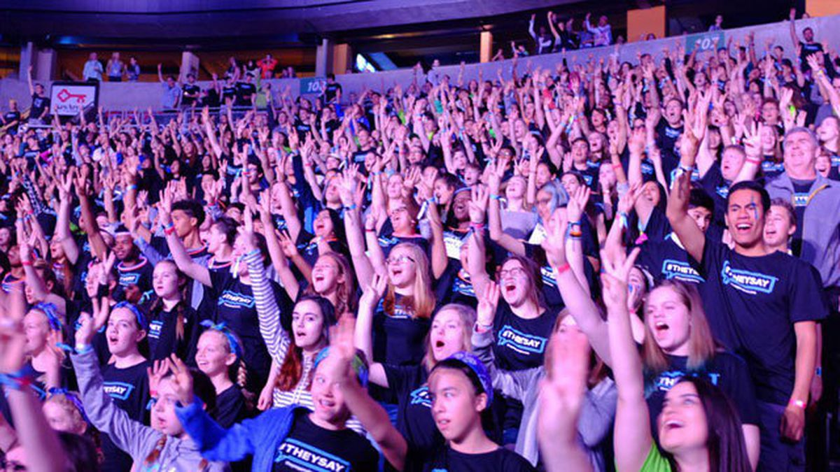 Stars, activists set for WE Day youth empowerment event at Tacoma Dome
