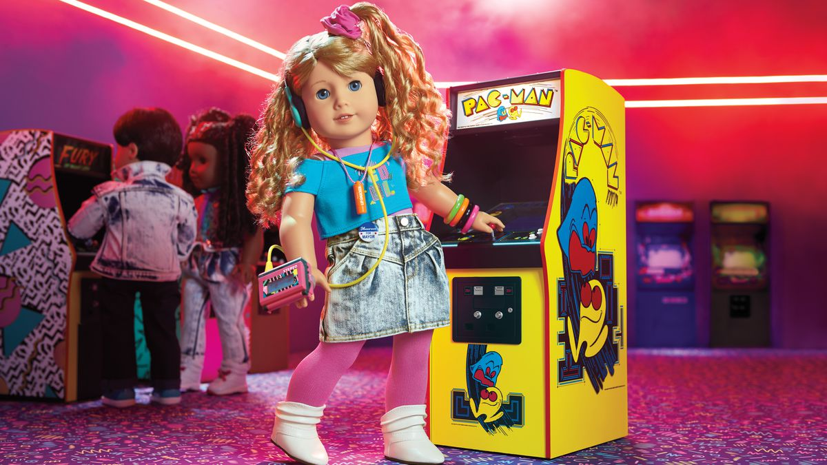 Meet Courtney: American Girl's new historic doll from way back in the '80s