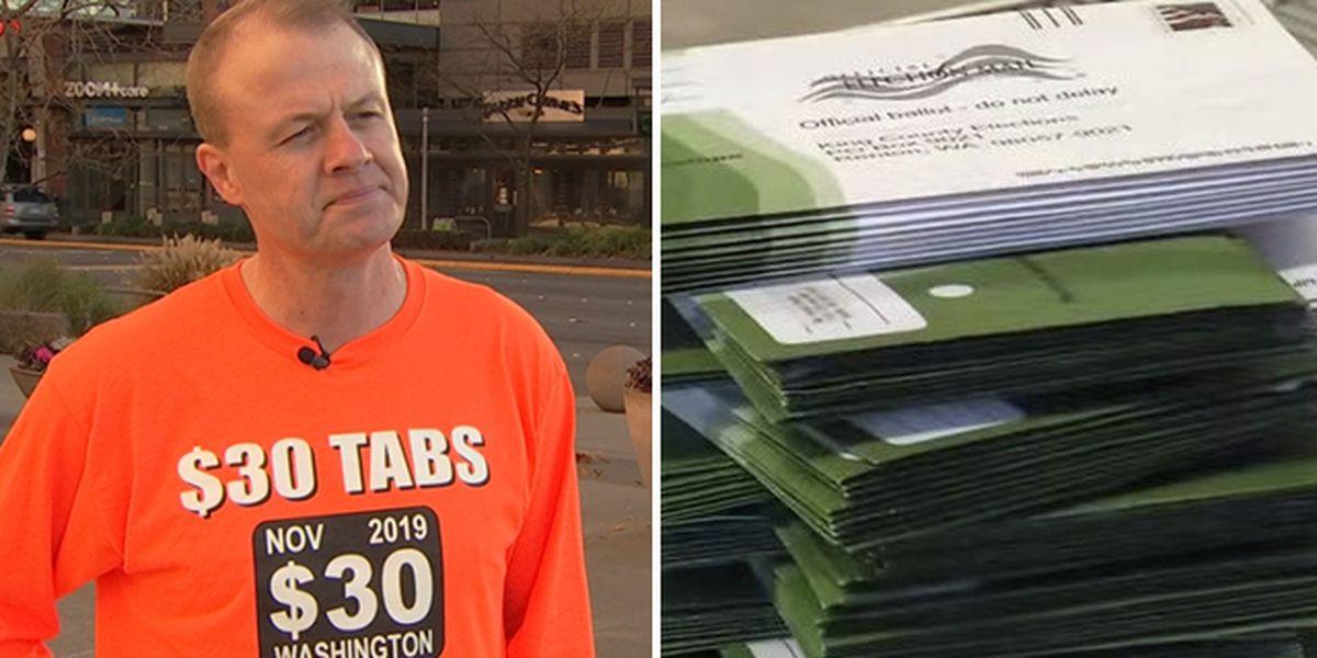 Judge weighs challenge to Tim Eyman's $30 car tab measure