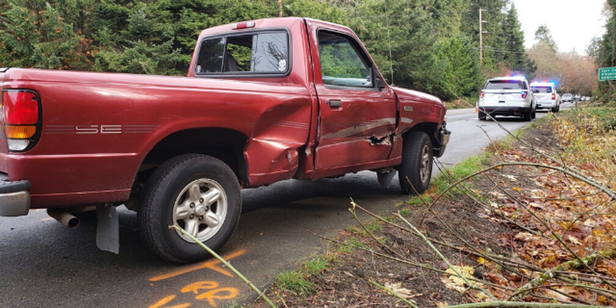 WSP: Suspected DUI driver injures 2 DOT workers on SR 104 near Port Gamble
