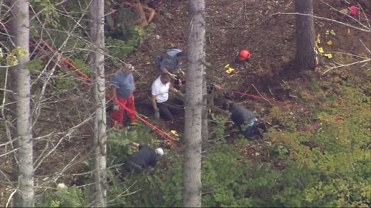 Human remains found in woods near Black Diamond construction site