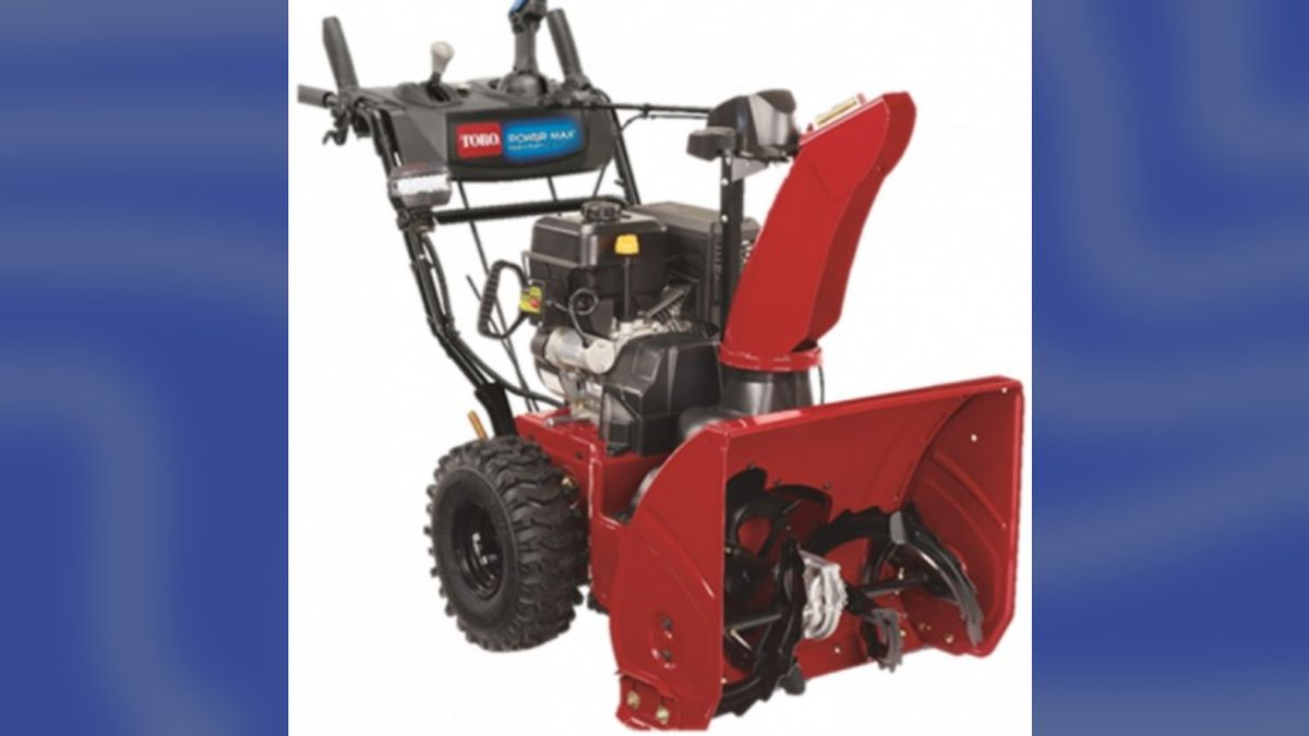 Recall alert: Toro issues nationwide alert for snowblowers due to risk of amputation