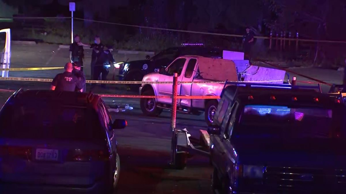 Police investigating shooting, hit-and-run that left 2 dead