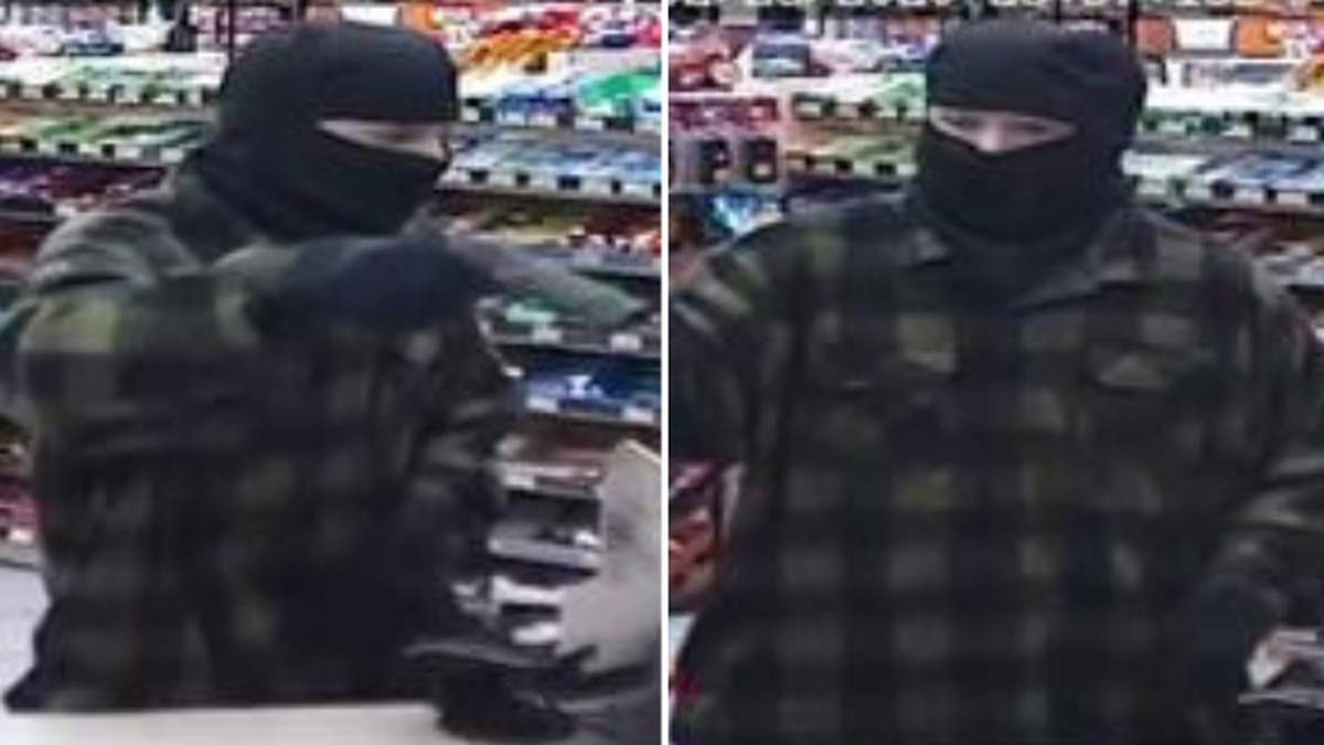 Everett police search for armed robbery suspect