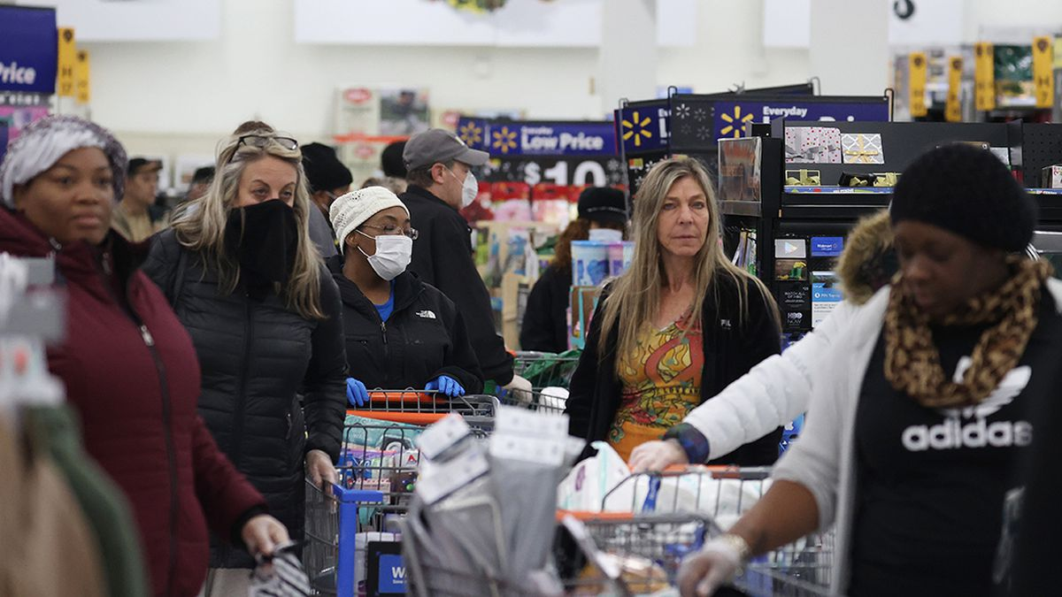 Coronavirus: Walmart to limit customers and create one-way traffic inside some stores