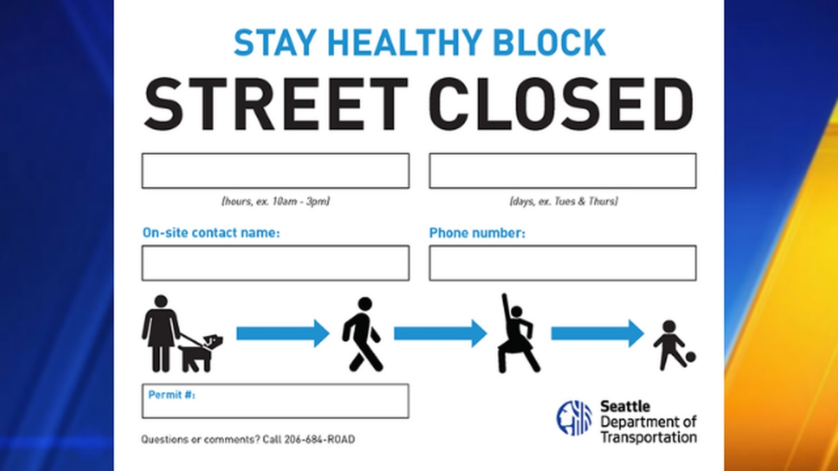 City announces free Stay Healthy permits that allow people to temporarily block off streets