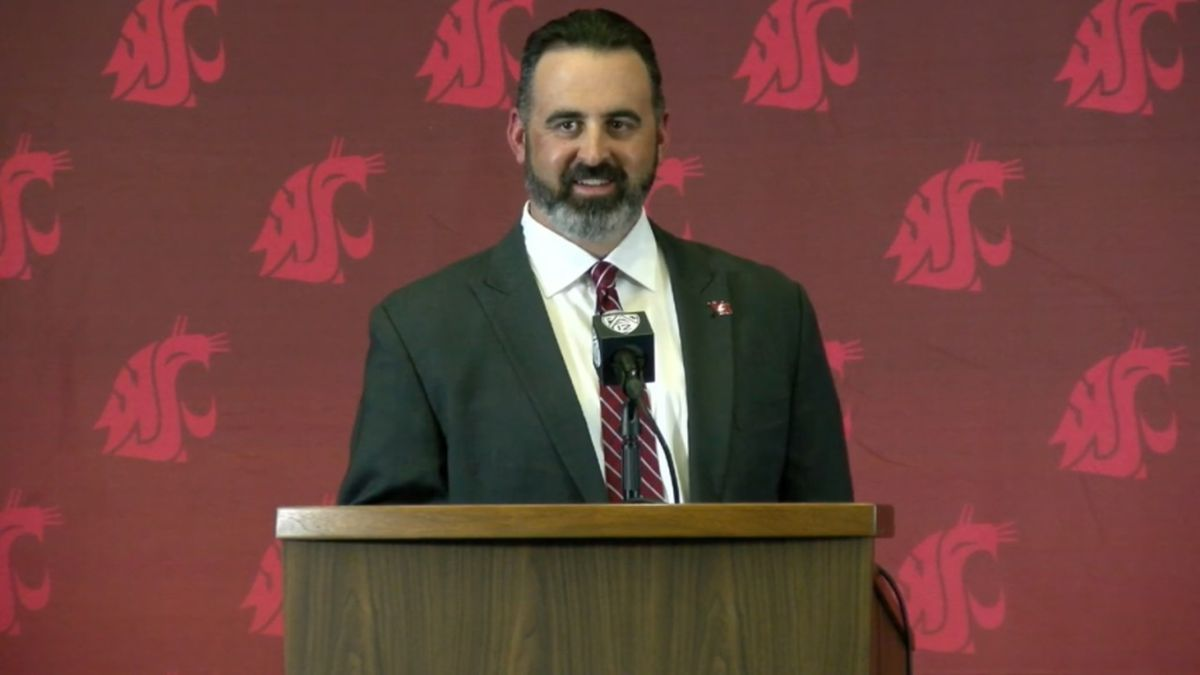 Rolovich introduced at Wazzu, strikes all the right chords