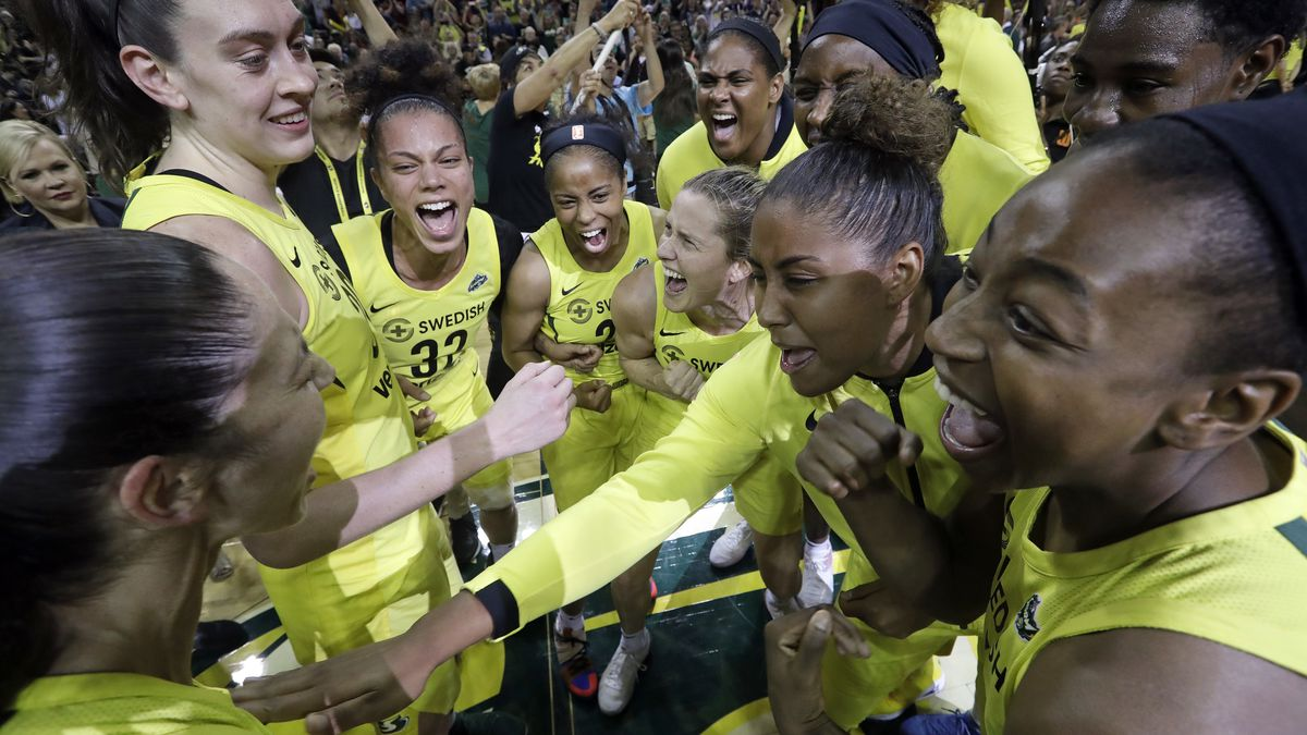 Seattle Storm release 2020 schedule