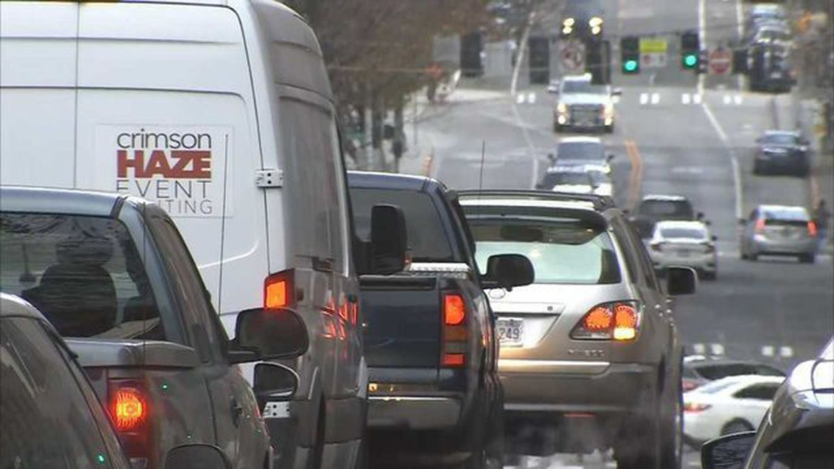 Seattle commute one of the worst in U.S., new survey says