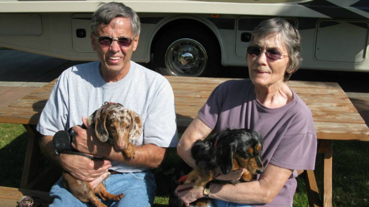Blind dog and his guide dog rescued, adopted by Yakima couple