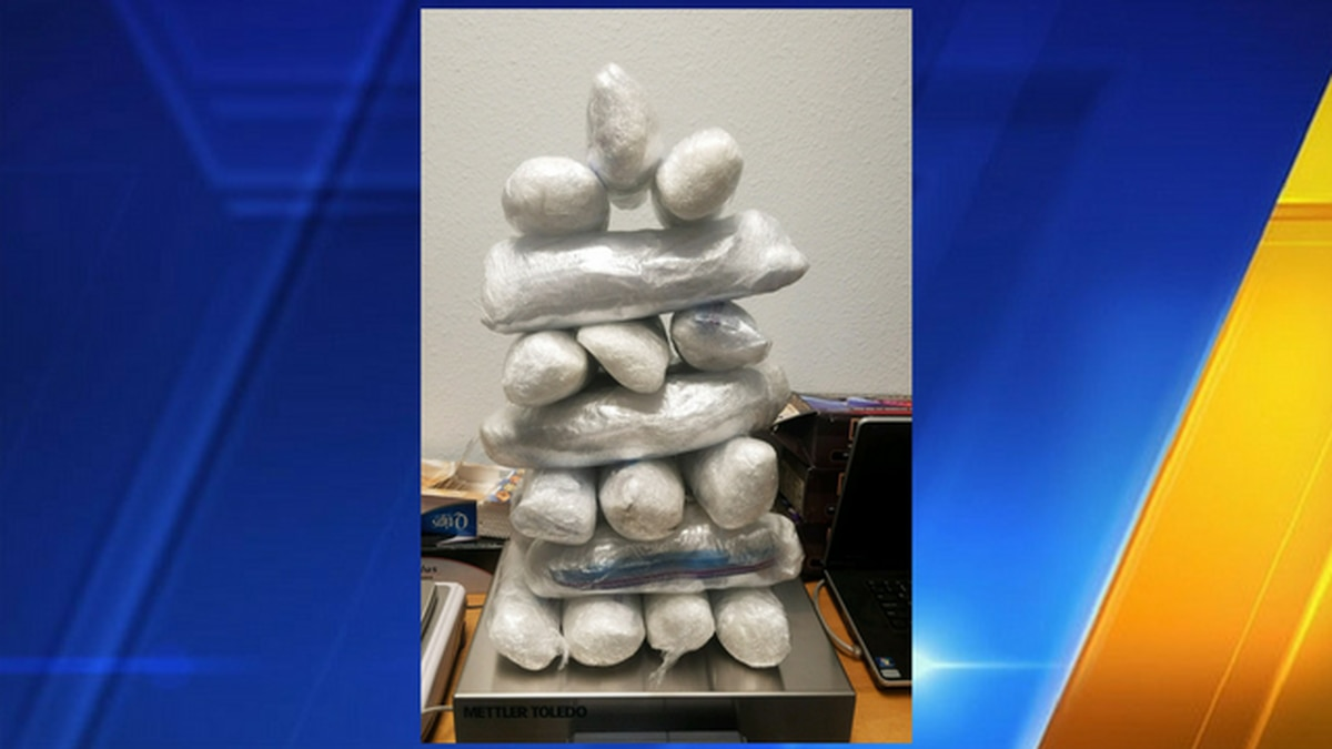 Three arrested after more than 25 pounds of meth and heroin found in Chehalis