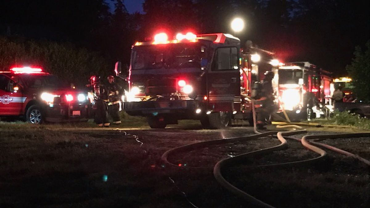 Deputies: Couple killed after grandson sets fire to Key Peninsula home