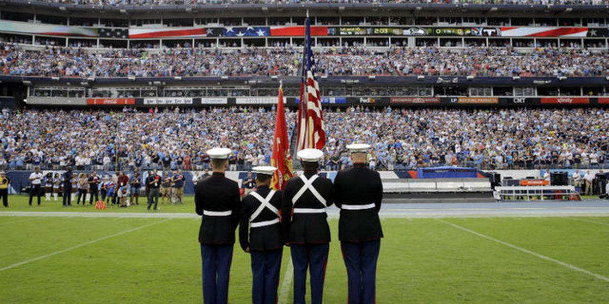 Timeline of NFL protests during the national anthem