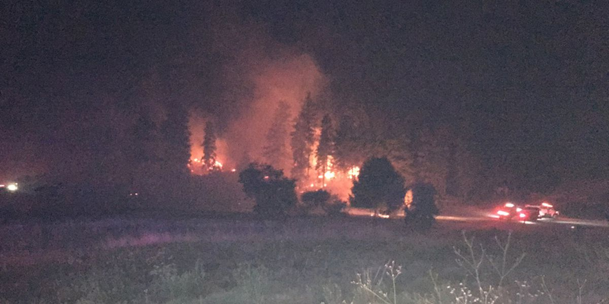Smelling smoke? At least 10 wildfires burning in Washington
