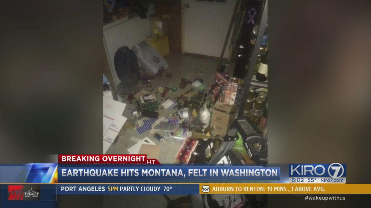 Could the Montana earthquake really be felt in Washington?