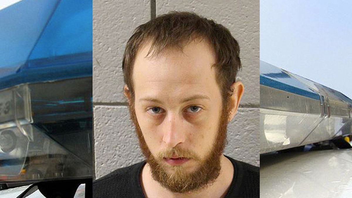 Police: Man kept human brain under porch, used it to get high