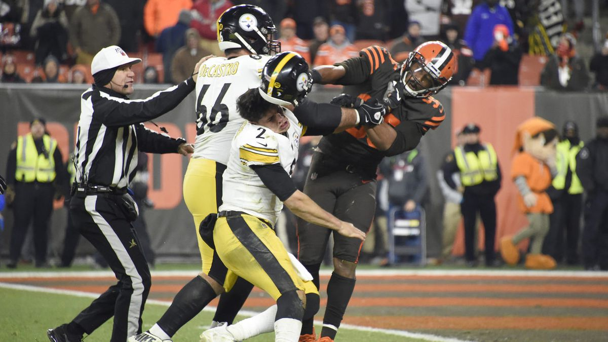 Steelers-Browns brawl: 33 players disciplined by NFL, reports say