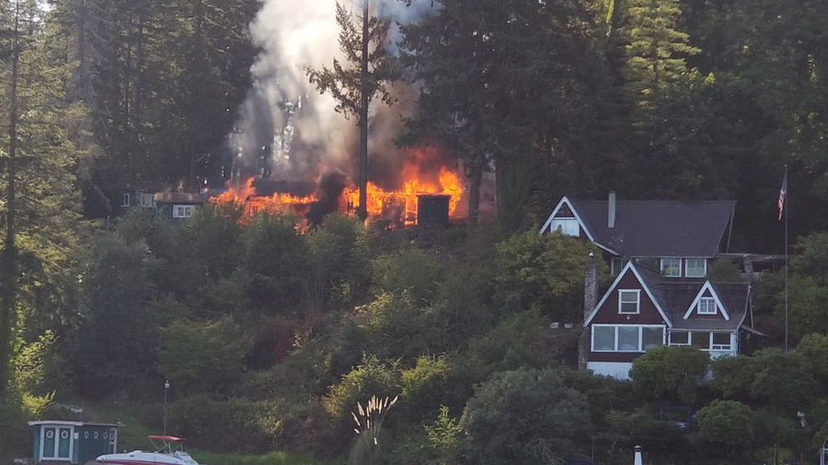Dog dies in Eatonville house fire