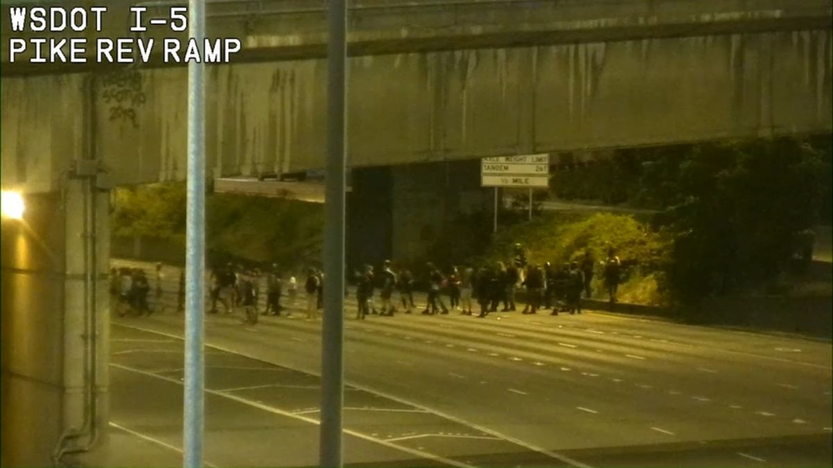 WSP chief addresses nightly protests, closing I-5 in Seattle