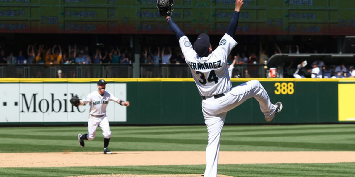 On this day: Felix Hernandez throws first perfect game in Mariners' history in 2012