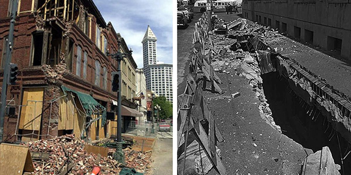 Seattle earthquakes: A recap of earthquakes from 1700-2019