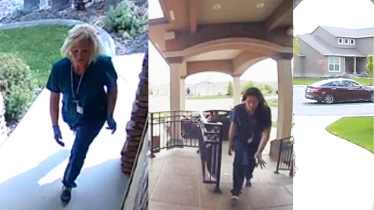 Police: Women dressed as health care workers suspected of stealing packages off porches