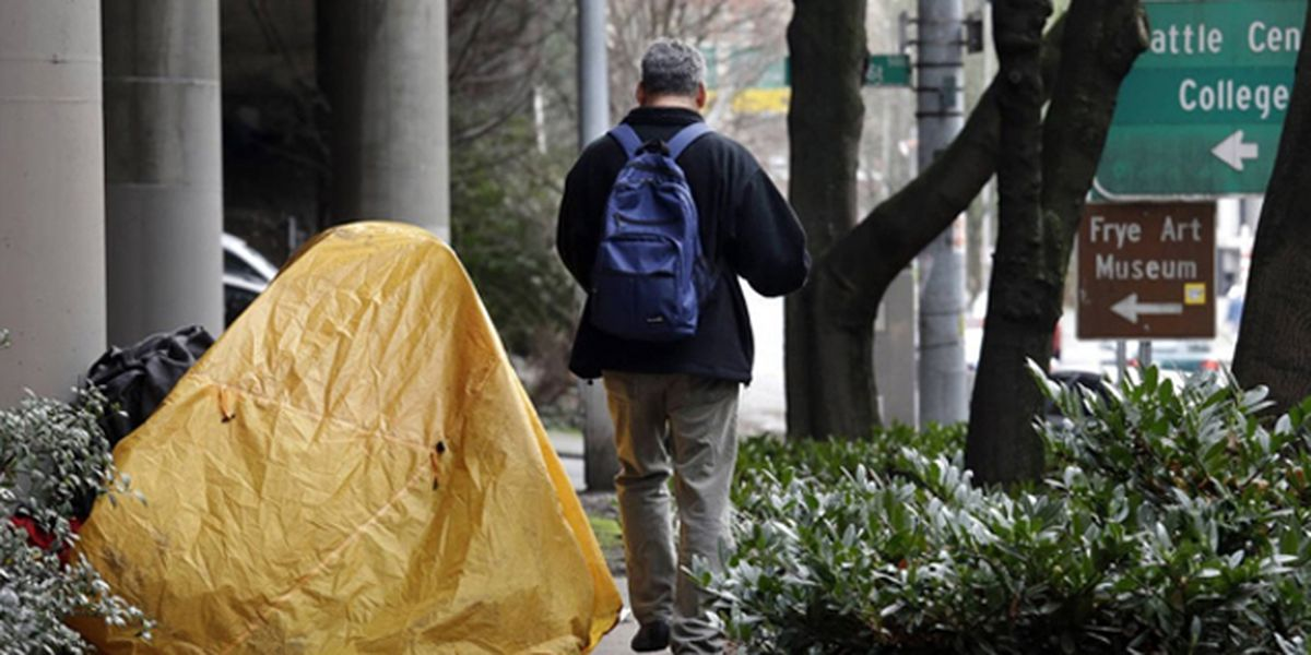 Couple prefers streets to Seattle's shelters