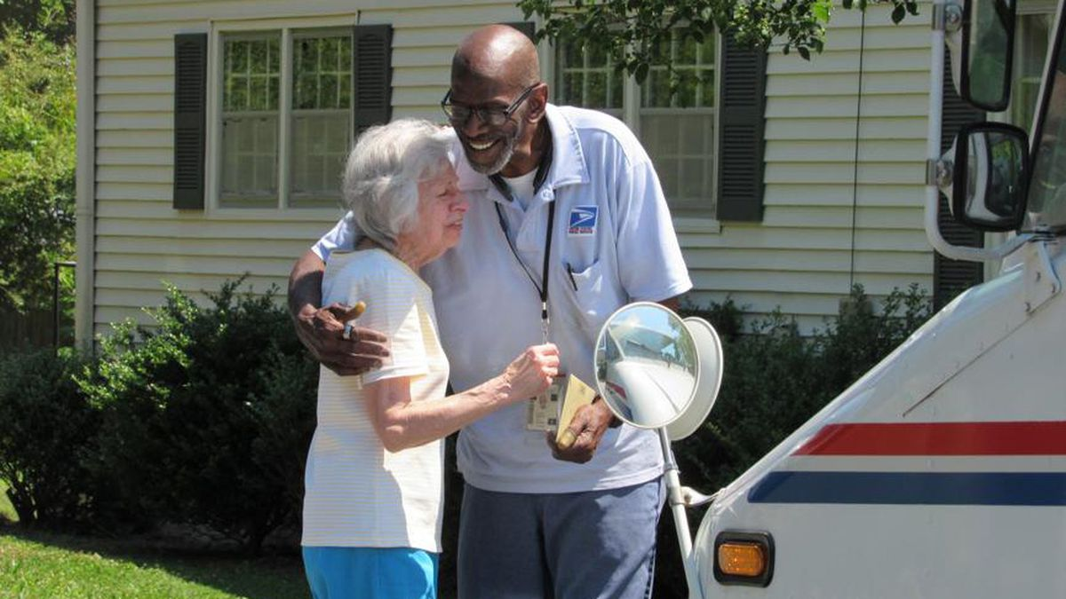 Georgia mailman 'Mr. Floyd' is delivering smiles around the world