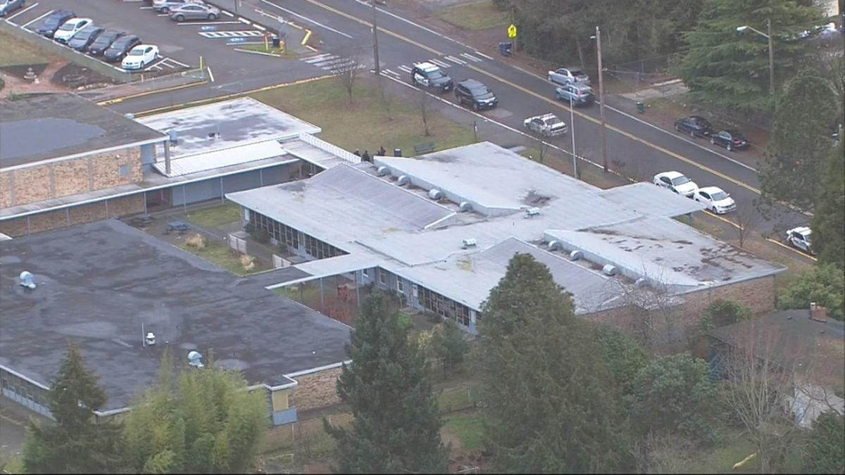Shots fired, bullet into building at high school in Burien area