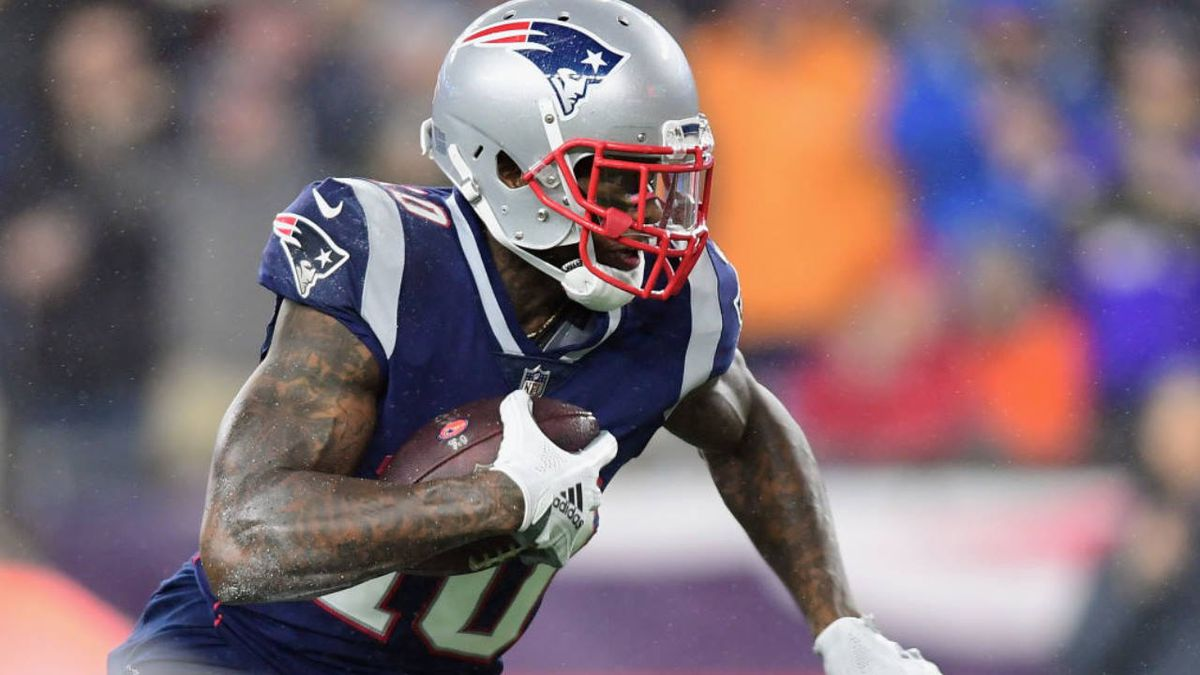 Josh Gordon reinstated by NFL, eligible to return to Patriots on Sunday