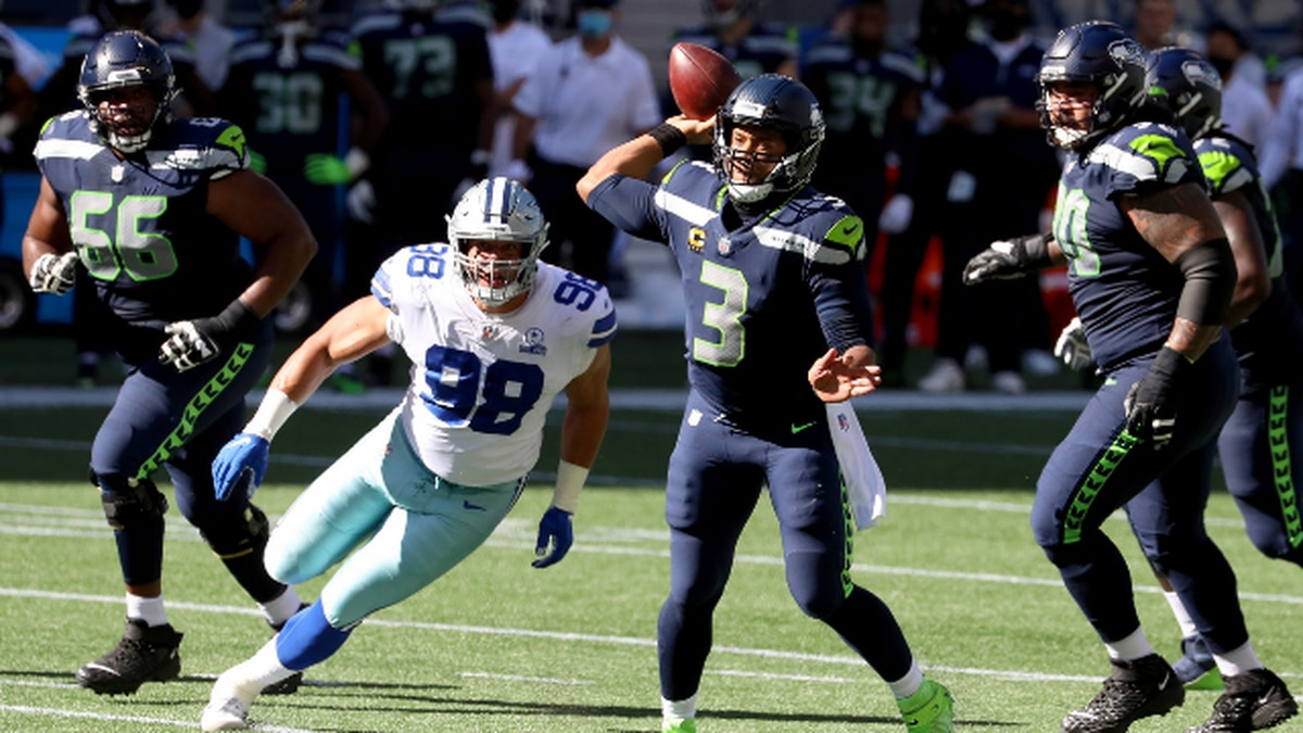 So nice he did it twice: Russell Wilson again named NFC Offensive Player of the Week