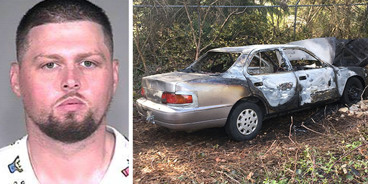 Wanted man suspected of burning ex-girlfriend's car
