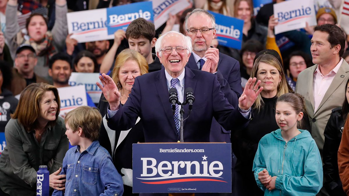 Sanders edges out Buttigieg in New Hampshire primary