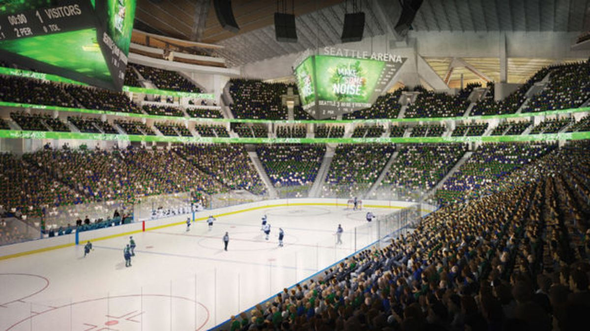 Oak View Group files to register 13 possible Seattle NHL team names