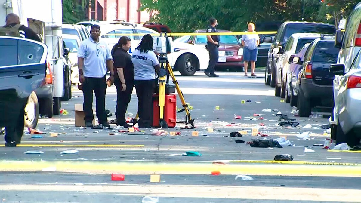 17-year-old dead, 20 others shot including off-duty officer at large gathering in DC, police say