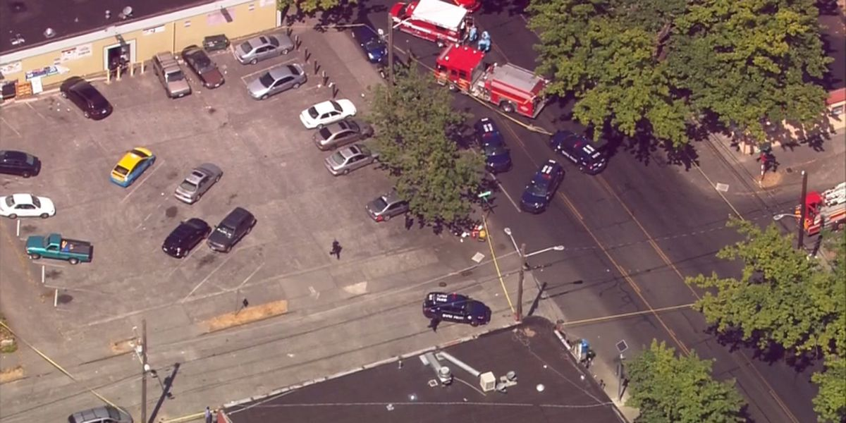 Police respond to report of shooting in South Seattle