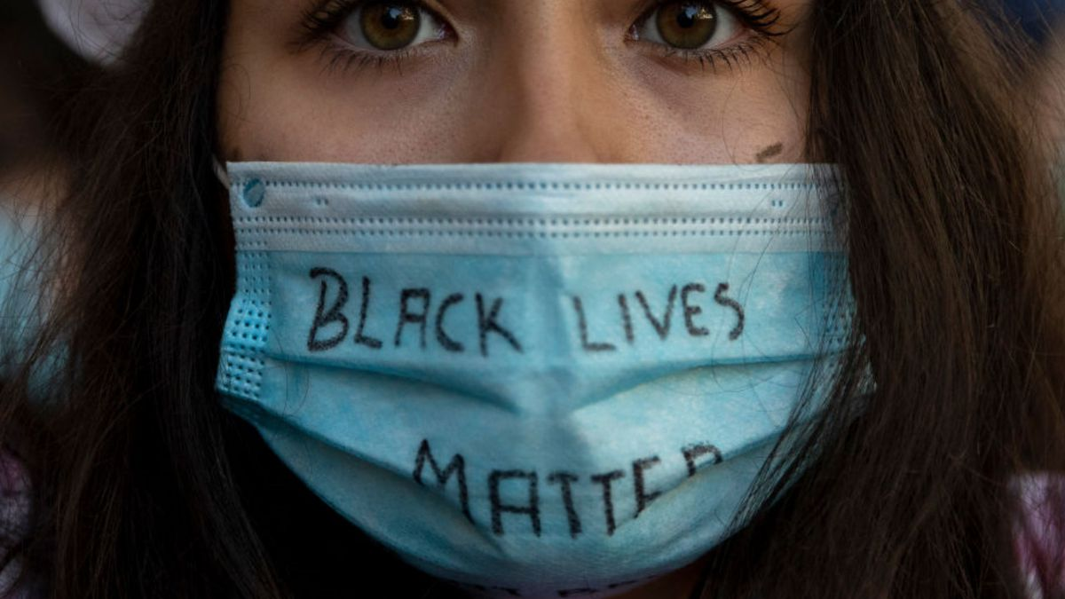 Texas charter school teacher fired after continuing to wear BLM mask