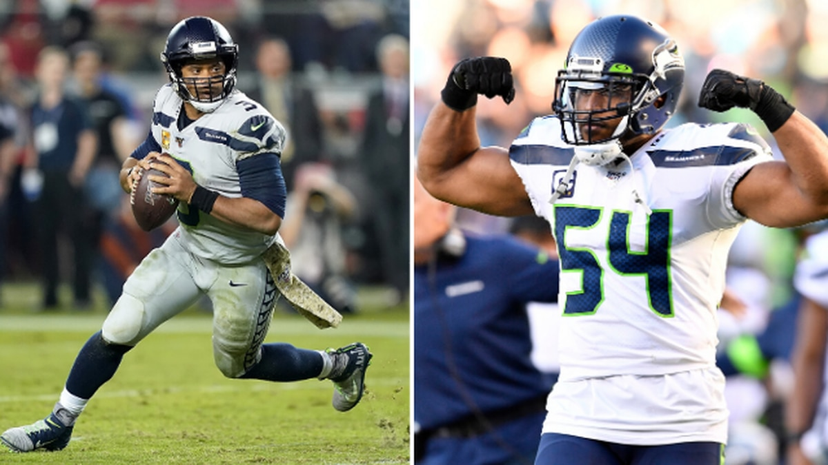 Russell Wilson, Bobby Wagner selected as Pro Bowl starters