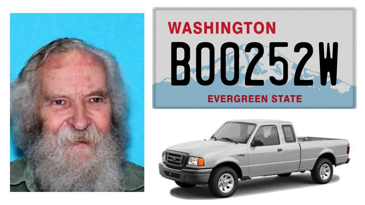 Silver Alert issued for 81-year-old Pierce County man