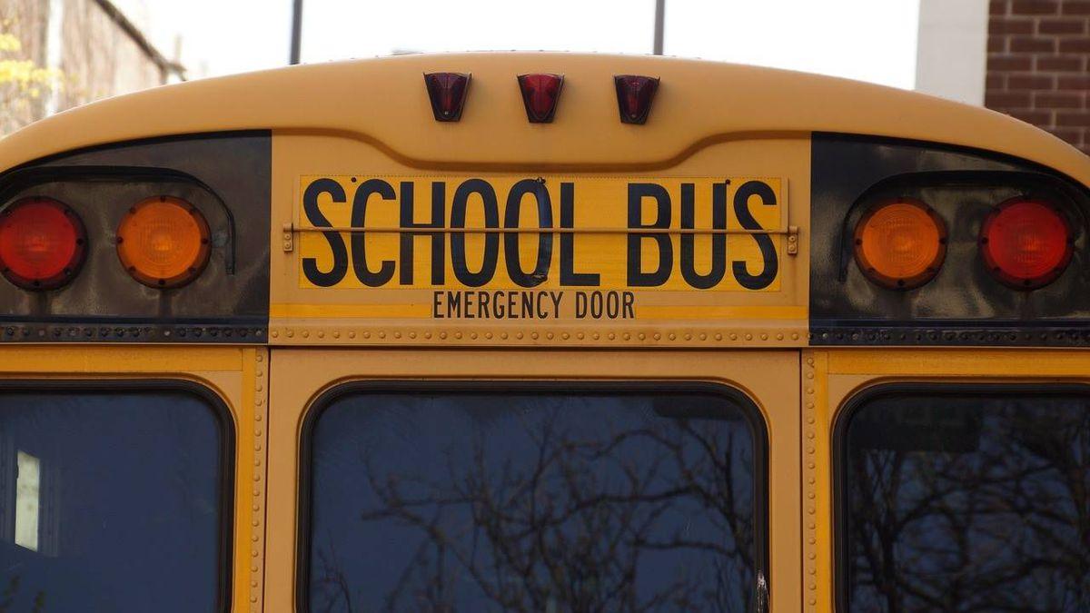 Slab of ice flies off semi, crashes through windshield of Michigan school bus