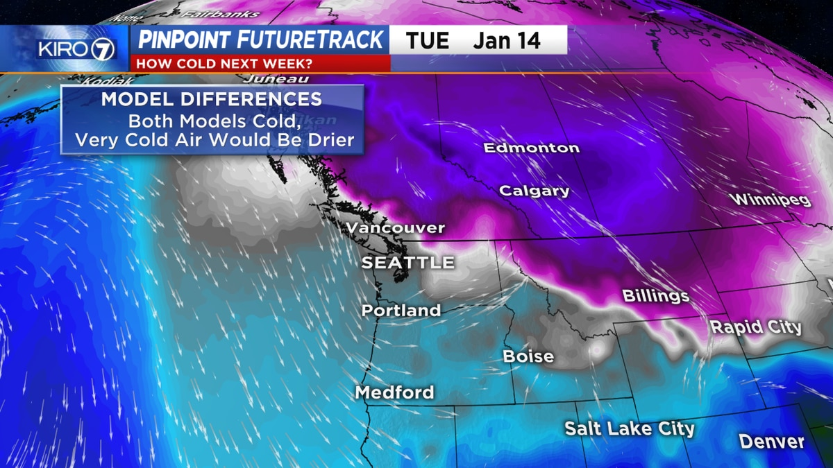 Cold likely next week, snow chances remain uncertain