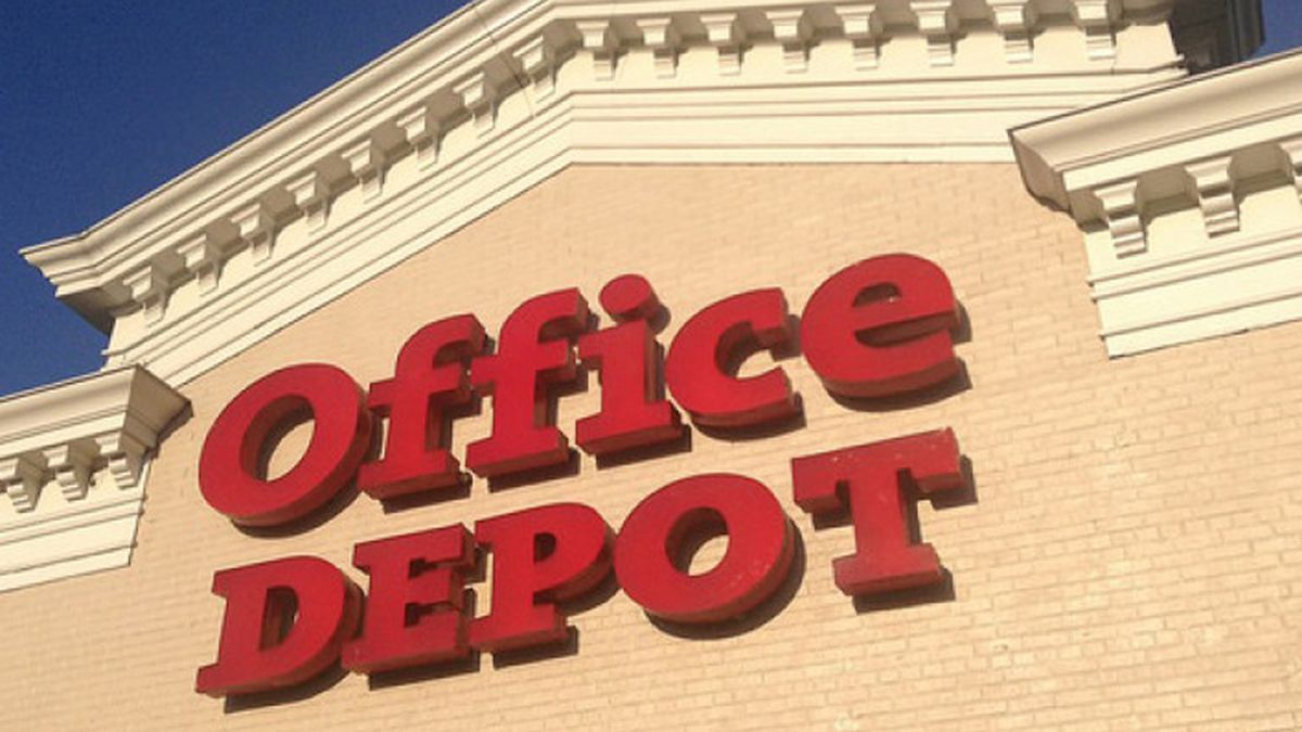 Office Depot And Tech Support Firm To