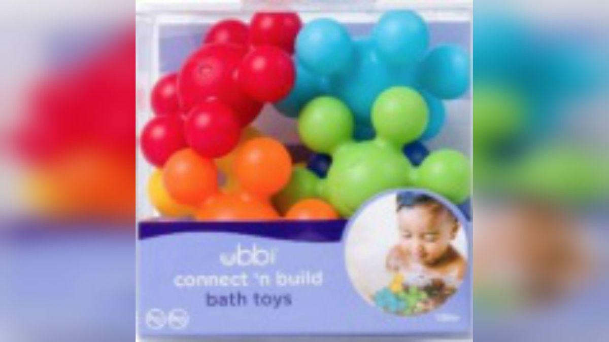 Children's bath toy recalled for choking, cutting hazard